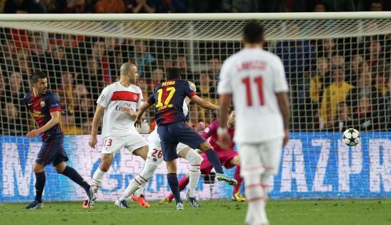 Pedro scores the 'winner' for Barcelona